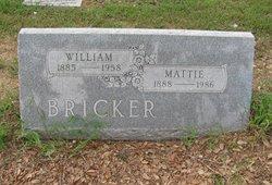 Mattie <i>Harrington</i> Bricker