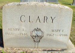 Mary E <i>Clary</i> Clary