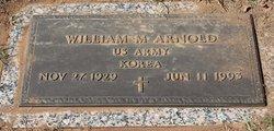 William M Arnold