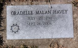 Oradelle M <i>Malan</i> Havey