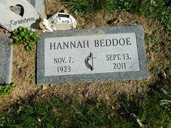 Hannah <i>Thomas</i> Beddoe