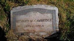 Richard McCambridge