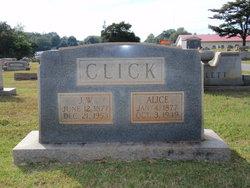 Alice <i>Sholey</i> Click