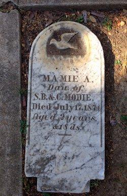 Mamie A Modie