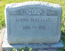 Lonnie Hope Clary