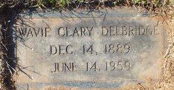 Nannie Wavie Mamie <i>Clary</i> Delbridge