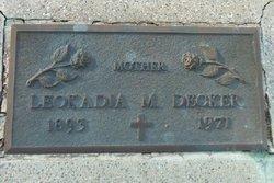 Leokadia M <i>Wandler</i> Decker