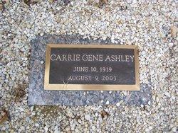 Carrie Gene Ashley