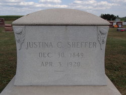 Justina C <i>Sheffer</i> Bailey