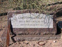 Lawton Henry Champie