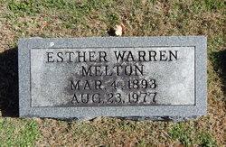 Esther <i>Warren</i> Melton