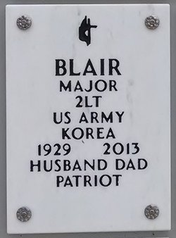 Major Elliot Blair
