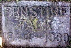 Marie Ernestine <i>Schmeling</i> Falk