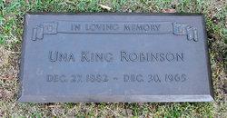 Una <i>King</i> Robinson