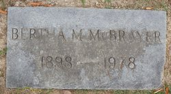 Bertha <i>Moore</i> McBrayer