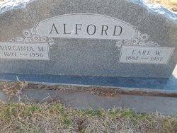 Virginia Mae <i>Burns</i> Alford