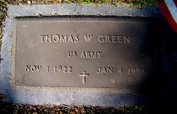 Thomas W Green