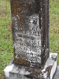 Sallie <i>Pitts</i> Ball