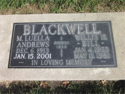 Martha Luella <i>Andrews</i> Blackwell