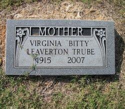 Virginia <i>Leaverton</i> Trube