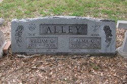 Alma Reed <i>Cook</i> Alley