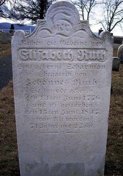 Elizabeth <i>Scharman</i> Ruth