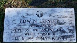 Corp Edwin Leesley