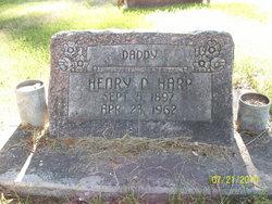 Henry Dewitt Harp