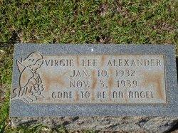 Virgie Lee Alexander