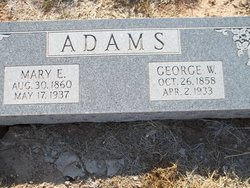 Mary Elizabeth <i>Gray</i> Adams