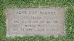 Alvie Ray Barker