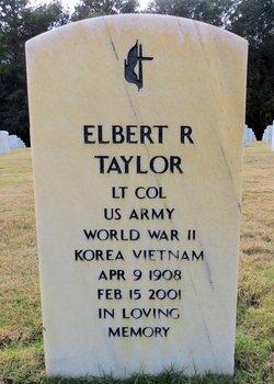 LTC Elbert Rupert Taylor