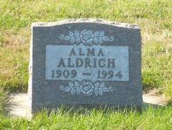 Alma A Aldrich