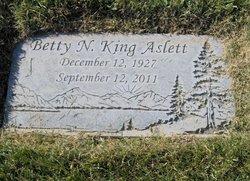 Betty Nell <i>King</i> Aslett