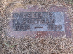 Karin Victoria Carrie <i>Carlson</i> Aultman
