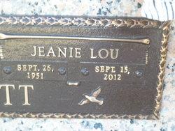 Jeanie Lou <i>Adams</i> Garriott
