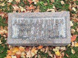 Alta E Addison