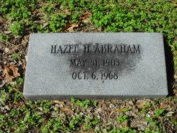 Hazel H Abraham