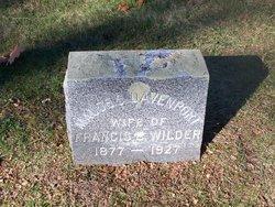 Maude Susan Susie <i>Davenport</i> Wilder
