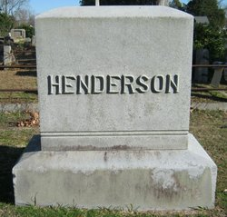 Joseph Franklin Henderson