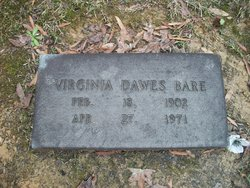 Virginia <i>Dawes</i> Bare