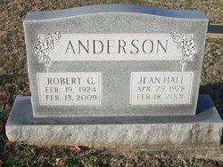 Jean <i>Hall</i> Anderson