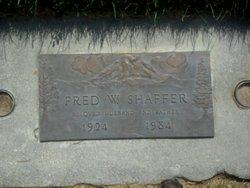 Fred W Shaffer