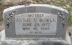 Annie V Bowen