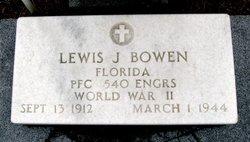 Lewis J Bowen