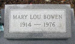 Mary Lou Bowen