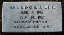 Alice <i>Barrineau</i> White