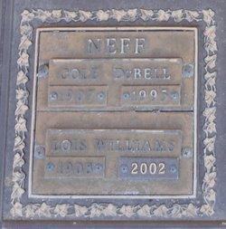 Lois <i>Williams</i> Neff