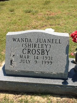Wanda Juanell Shirley Crosby