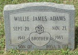 Willie James Adams